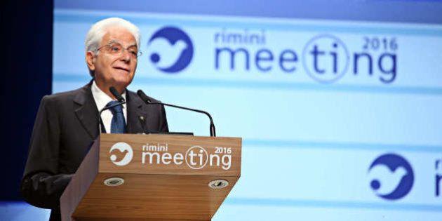 Sergio Mattarella al Meeting di Comunione e Liberazione. Il Quirinale preoccupato dall'autunno