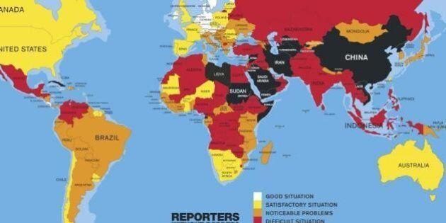 Libertà di stampa, Italia sempre peggio a causa di mafia e Vatileaks: 77mo posto dopo Burkina