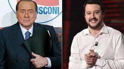 Berlusconi cede a Salvini: sarà in piazza a