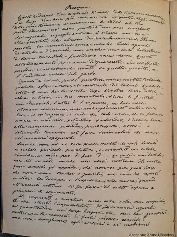 Quando Giosuè Carducci correggeva i compiti di Giovanni Pascoli: il documento ritrovato per caso in una...