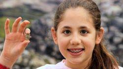 Questa bambina di 8 anni scopre un antico amuleto
