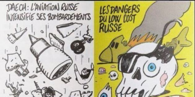 Aereo russo precipitato, governo Putin contro vignette Charlie Hebdo: