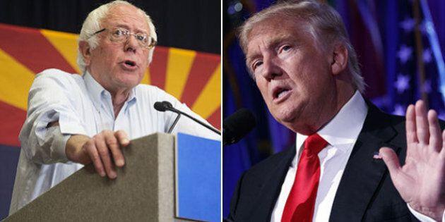 Bernie Sanders tende la mano a Donald Trump ma avverte: