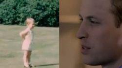 William si emoziona vedendo le immagini del principe Carlo bambino: