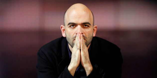 Italian writer Roberto Saviano, author