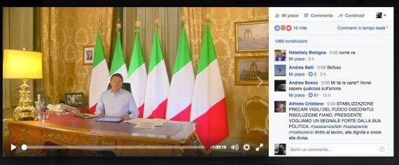 Referendum, Matteo Renzi si 'trumpizza':