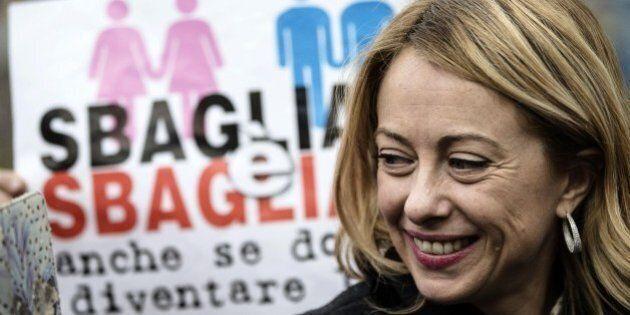 Giorgia Meloni al Corriere della Sera: