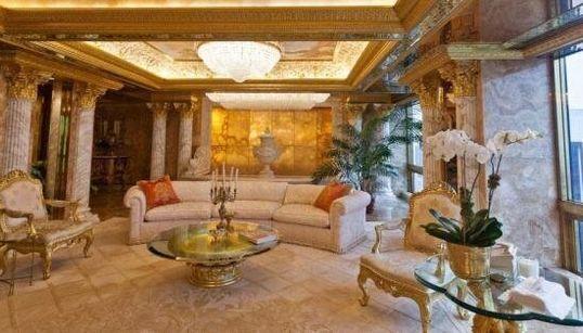 Dentro l'attico dei Trump: viaggio nel lusso negli ultimi tre piani della Trump