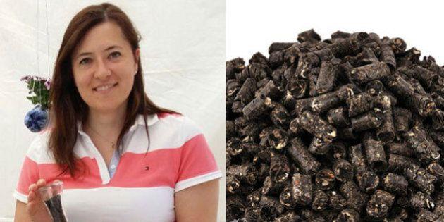 Oltrecafé, come ricavare pellet per stufe dai fondi del caffè. L'idea di Francesca