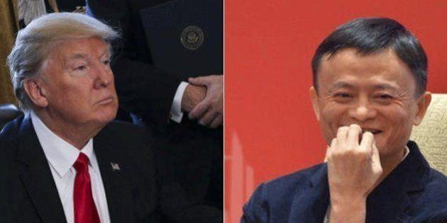 Jack Ma, il fondatore del colosso Alibaba, avverte Donald Trump: