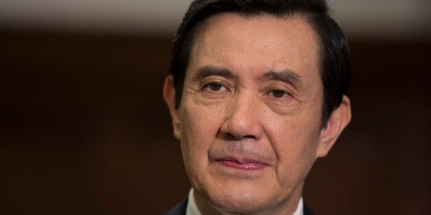 Ma Ying-jeou, Taiwan's president, pauses during an interview in the presidential palace in Taipei, Taiwan, on Thursday, July