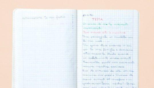 Questi 10 quaderni raccontano le emozioni di un'Italia