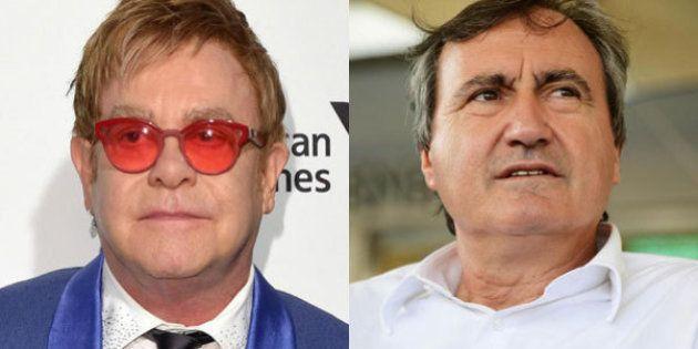 Elton John vs Luigi Brugnaro: