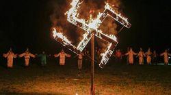 Ku Klux Klan in parata per
