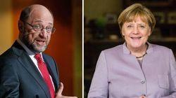 Per la prima volta Schulz supera Merkel in un