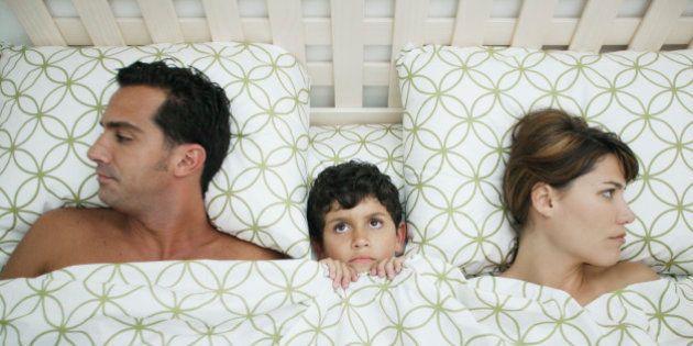 Chi ha detto che un figlio unisce la coppia, con molta probabilità non aveva