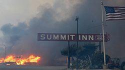 La California brucia ancora. Distrutto il Summit Inn, il diner della mitica Route