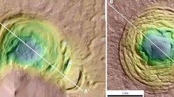 Gli scienziati hanno avvistato qualcosa di strano su Marte (e potrebbe essere la spia di nuova