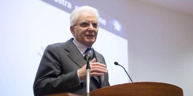 Sergio Mattarella ai giovani magistrati:
