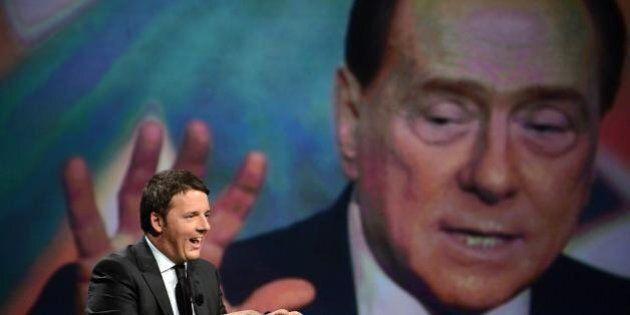 Matteo Renzi come Silvio Berlusconi, dalla Tasi all'articolo 18, dal Ponte sullo Stretto alla soglia...