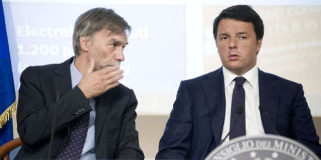 Ponte sullo stretto. Matteo Renzi dice sì per aprire la caccia al voto moderato. Graziano Delrio si