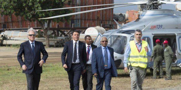 Ponte sullo Stretto. Matteo Renzi incontrerà Pietro Salini lunedì in Arabia