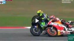 Rossi-Marquez-Lorenzo: il triangolo delle polemiche in 90