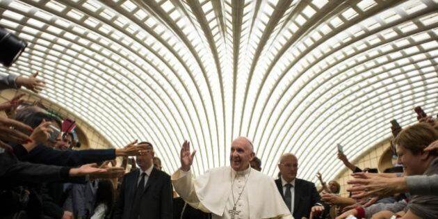Udienza Inps, il Papa sta con esodati, precari e gente a cui è stata spostata l'età della pensione.