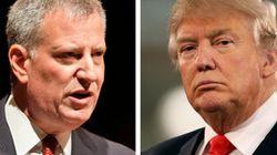 Il sindaco di New York De Blasio dichiara guerra Donald Trump: non aprirà i database degli immigrati