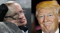 Stephen Hawking ha insultato Trump in un modo che forse Trump non