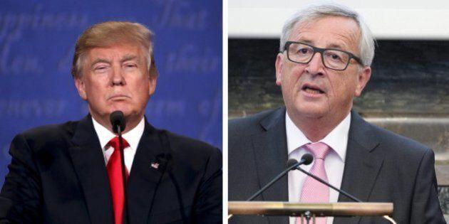 Trump-Europa, niente luna di miele. Juncker: