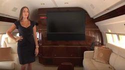 Salotti e rubinetti d'oro: dentro il jet privato a cui Donald Trump dovrà dire