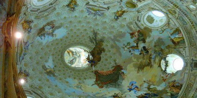 Le opere d'arte riducono lo stress dei loro osservatori. Il test scientifico alla cupola di Vicoforte...