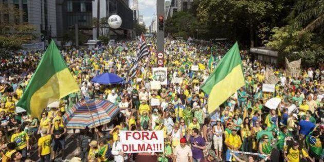 Nel mio Brasile tira un'aria bruttissima. Di