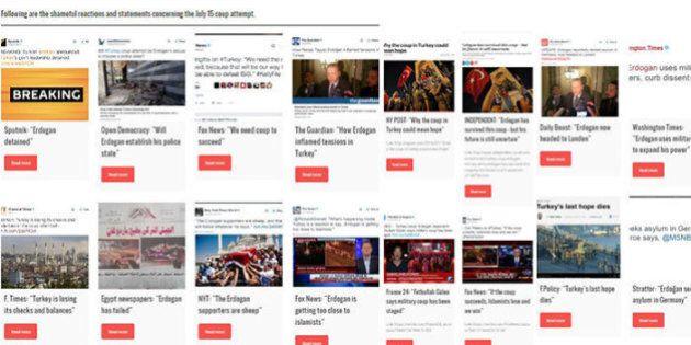 La Turchia alza il muro della vergogna contro i media occidentali: su Internet pesanti accuse per le...