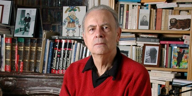 In this undated photo provided by publisher Gallimard, French novelist Patrick Modiano poses for a photograph. Patrick Modian