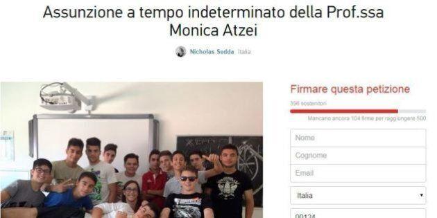 La petizione degli studenti affezionati: