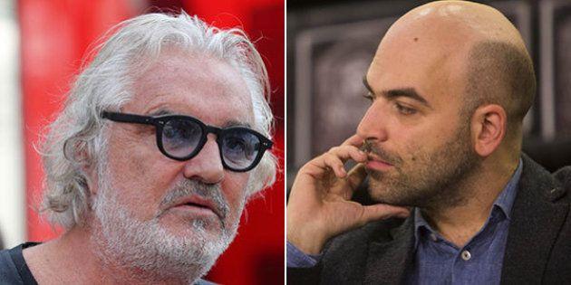 Flavio Briatore contro Roberto Saviano:
