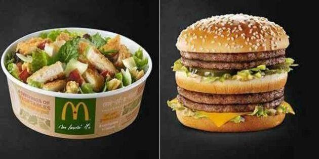 La verità sulla Cesar Salad del McDonald's: ha più calorie del Double Big