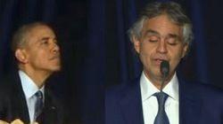 Bocelli emoziona anche Obama: