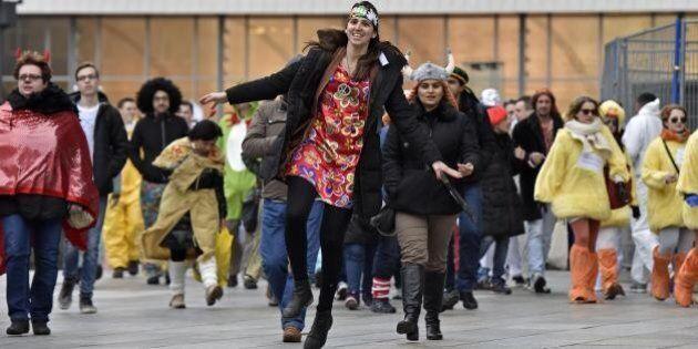 Colonia, 22 denunce per molestie sessuali durante il giovedì grasso di Carnevale. Bild: