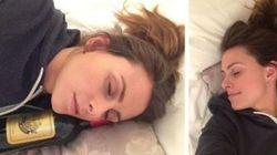 La foto di questa donna pubblicata su Facebook cattura perfettamente la gioia di non avere