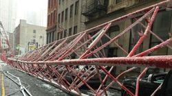 Crolla una gru a Manhattan: almeno un morto e due feriti