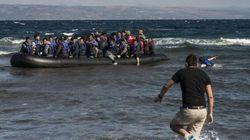 A Lampedusa i disegni dei bimbi siriani esposti come opere d'arte, per non