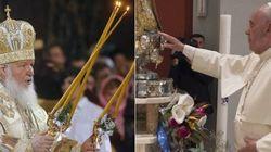 Papa Francesco incontra il patriarca Kirill, la grande riconciliazione passa da