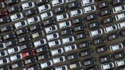 L'illusione ottica del parcheggio che ha mandato in tilt