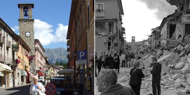 Terremoto centro Italia. Amatrice non c'è più. Da gioiello d'Italia a cumulo di macerie (FOTO,