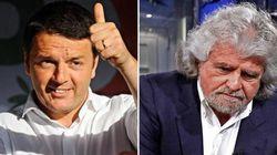 Renzi - Grillo, lo scontro è sugli 80 euro.