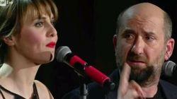 La Cortellesi e Albanesi cantano la perfetta canzoni anti