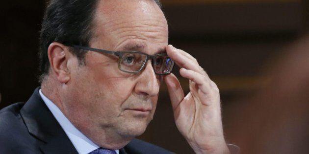 Hollande sprofonda nei sondaggi, Le Pen vola. Scioperi, allerta terrorismo e maltempo gli danno il colpo...
